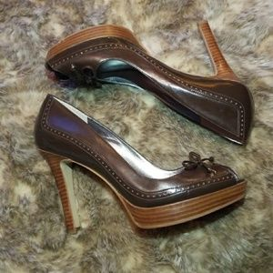 Marc Fisher Vica Brown Heels